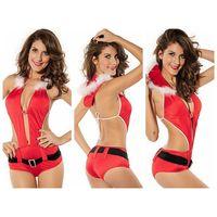 Playful Santa Lingerie Costume thumbnail image
