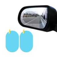 Car Rearview Mirror Protective Film Anti Fog Film car rainproof for clear vision thumbnail image