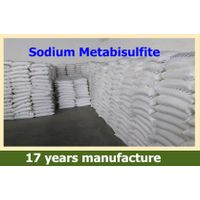 SMBS Na2S2O5 Sodium Metabisulphite/sodium metabisulfite 97%min for leather/water treatment