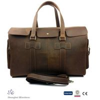 2015 Hot-selling Genuine Leather Handbag for men in high quality grade