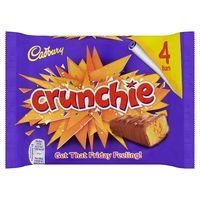 Cadburys Crunchie 4 Pack 104g thumbnail image