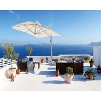 Retractable Garden Parasol - Elegant Garden Umbrella