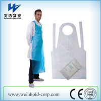 Disposable PE aprons,Medical aprons,Plastic HDPE aprons