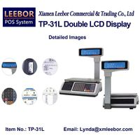 Digital Desktop Pricing Scale, Supermarket Receipt / Bill Printing POS Counting Weighing Instrument thumbnail image