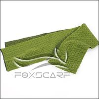 Elegant Knitted Scarf in Green