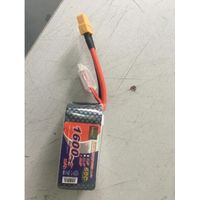 Enrichpower Lipo Battery Pack 1600mAh 14.8V 60C 4S Softcase with Deans/XT60/Traxxas For RC Models