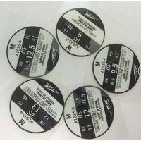 Footwear heat transfer labels