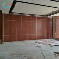 Customized wooden partition wall panel interior wall partition for banquet/restaurant thumbnail image