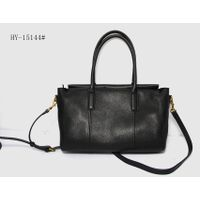 Stylish, horizontal lady's leather handbag HY-15144#