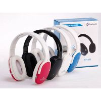 High quality bluetooth stereo headphones with built-in mic for call answer
