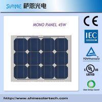 45Watt Mono-Crystalline Solar Moudle