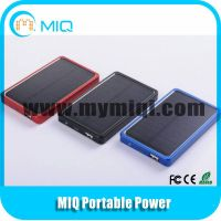 Hot sale slim solar charger with low price 5000MAH high capacity thumbnail image