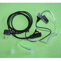 Bodyguard Style Headset with HQ PTT Microphone earpiece