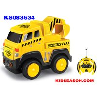 KIDSEASON 4ch remote control cartoon rc truck toys