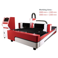 1000W IPG Fiber CNC laser cutting machine for metal cutting 1530