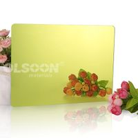 Polycarbonate Bathroom Wall Plastic Mirrors Sheets