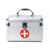 First Aid Case/Aluminum Medical Equipment Case/ Locking Medicine Cabinet