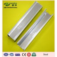 Best sale 50/32mm vertical galvanized steel c stud for partiton system