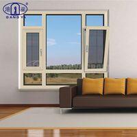 Aluminum Window Manufacturers Thermal Break Aluminium Casement Window with Tempered Glass