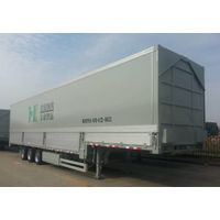 Semi trailer with PP honeycomb panel