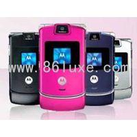 Motorola V3 mobile cell phone