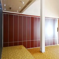 Sliding Door System Movable Office Partition Wall