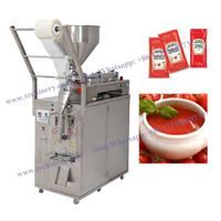 Liquid Vertical form fill seal packing machine VFFS water honey shampoo milk oil ketchup sauce sache