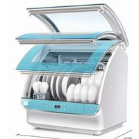 Frequency conversion dishwasher