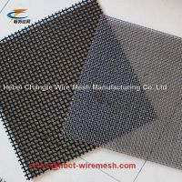 Square Crimped Woven Wire Mesh Medium Carbon Steel For Sieve Quarry thumbnail image