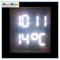 LED Digital Time Temperature Display