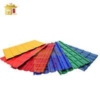 Synthetic Resin Roofing Sheet/ASA Spanish Roofing Tile/ASA PVC Plastic Roof Tile thumbnail image