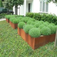 corten steel garden edging