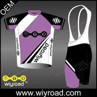 Accept sample order cycling wear stock/selling cycling shirt/specialized cycling bib shorts set thumbnail image