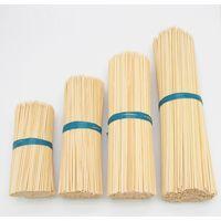 Half-Sharp Teppo Skewers Bamboo Square Rod sticks