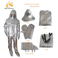Aluminum High Temperature Working Heat Protective Clothing