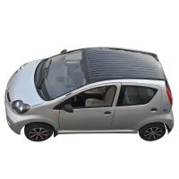 City use solar electric car factory price 4 wheel electric car with solar panel thumbnail image