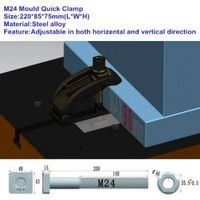 Mold quick clamp