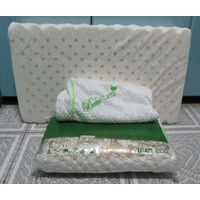100% Natural Latex Contour Pillow from Thailand