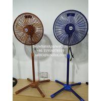 "18"" Electric Stand Fan AC Power Source with cross base/ Ventilador De Pie/Pedestal Fan"