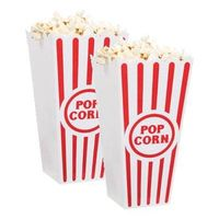 Melamine popcorn bowl set