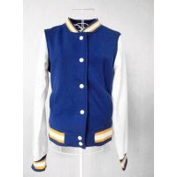 womens and mens baseball jacket apparel stock