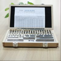 steel block gauge set/can single purchase/112 pcs per set /grade 1