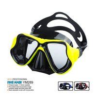 silicone scuba diving mask