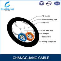 Stranded Loose Tube Non-metallic Strength Member Non-armored Cable GYFTY from China factory Changgua