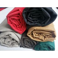China Made gots certified eco-friendly organic cotton fabric TWILL