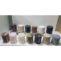 UNIQUE FANCY ONYX STONE CANDLE JARS, MARBLE STONE DIFFUSER