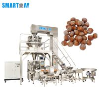 automatic hazelnuts packaging machine