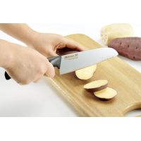 Diamond Titanium 3D Knife (Angled Handle for Sharpening) kitchen knives Made in Japan thumbnail image