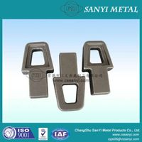 Construction machinery parts forged metal product for construction machinery use construction machin