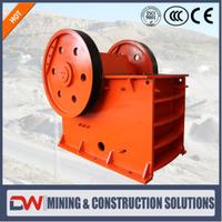 Industrial Used Aggregate Diamond Rock Crushed Stone Jaw Crusher Equipment Machine thumbnail image